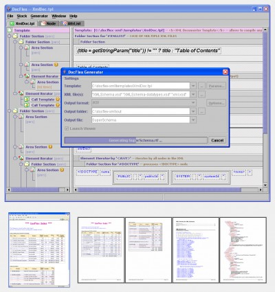 DocFlex/XML 1.0 screenshot