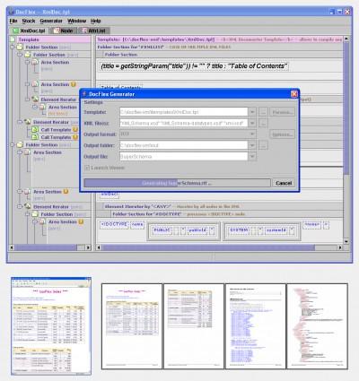 DocFlex/XML 1.0 screenshot