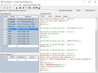 Docklight RS232 Terminal - RS232 Monitor 2.2.8 screenshot