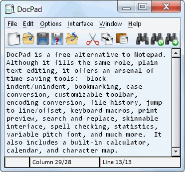 DocPad 24.0 screenshot