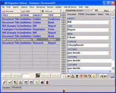 Document Organizer Deluxe 4.12 screenshot