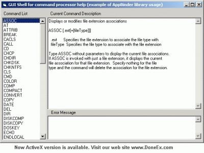 DoneEx AppBinder DLL 1.1.2 screenshot