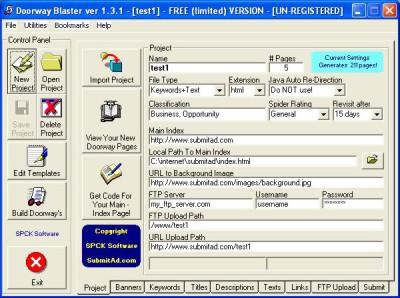 Doorway Blaster 1.3.2 screenshot