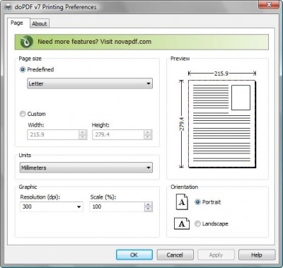 doPDF 10.9.128 screenshot