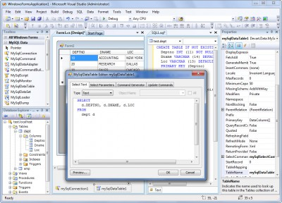 dotConnect for MySQL 8.10 screenshot