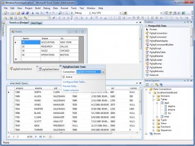 dotConnect for PostgreSQL 7.11 screenshot