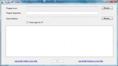 dotNet Sniffer Win32 2.0 screenshot