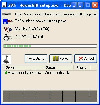 DownShift Download Manager 1.0 screenshot
