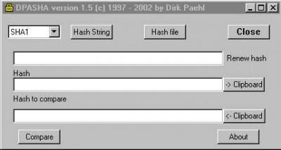 DPASHA 1.99 screenshot