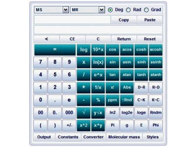 DPLS Scientific Calculator 2.8.0.1 screenshot