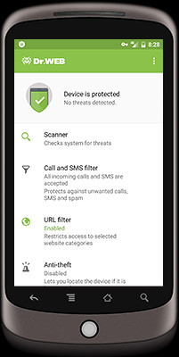 Dr.Web for Android 12.4.2 screenshot