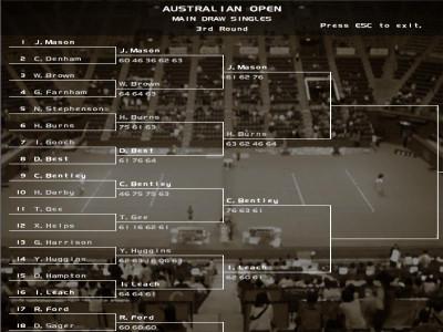 Dream Match Tennis Pro 2.36 screenshot