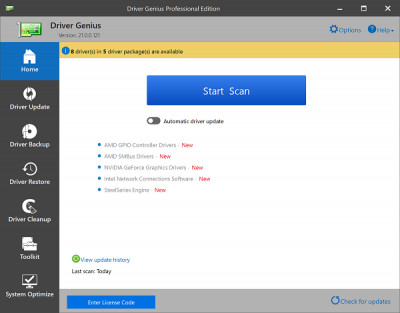 Driver Genius 19.0.0.145 screenshot
