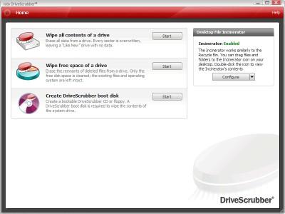 DriveScrubber 3.9.4 screenshot