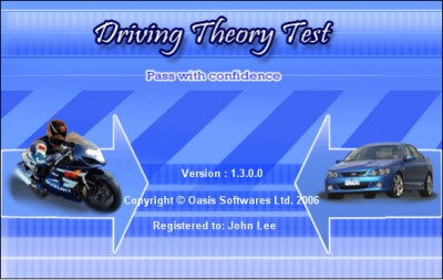 Driving Theory Test Software 1.7 screenshot