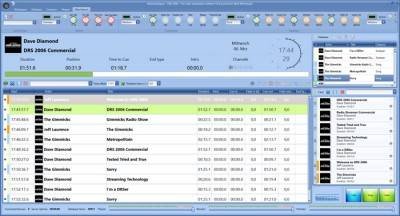 DRS 2006 The radio automation software 4.0 screenshot