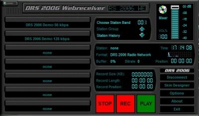 DRS 2006 Webreceiver 1.2 screenshot