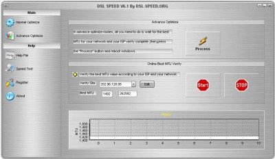 DSL Speed 8.0 screenshot