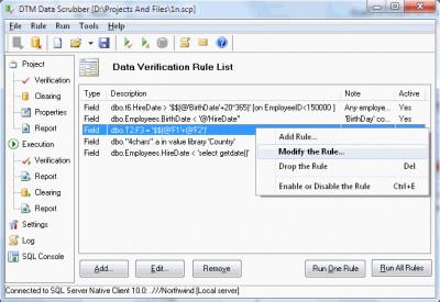 DTM Data Scrubber 1.15.07 screenshot