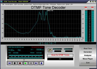 DTMF Tone Decoder 2020 screenshot