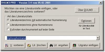 DULM 3.3b screenshot