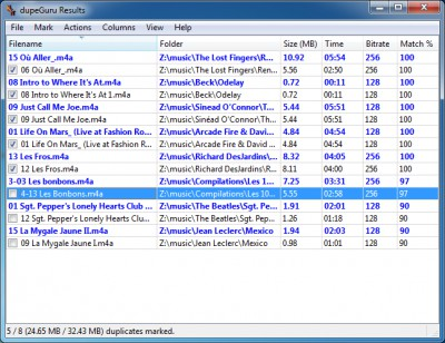 dupeGuru Music Edition 6.5.0 screenshot