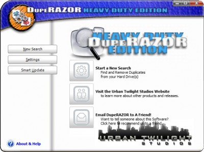 DupeRAZOR - Duplicate Files Removal Kit 4.0 screenshot