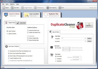 Duplicate Cleaner Free 4.0.5 screenshot