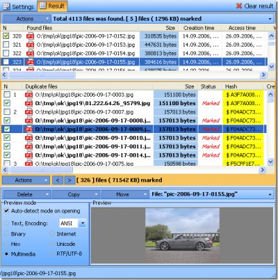 Duplicate File Detector 5.5.0 screenshot