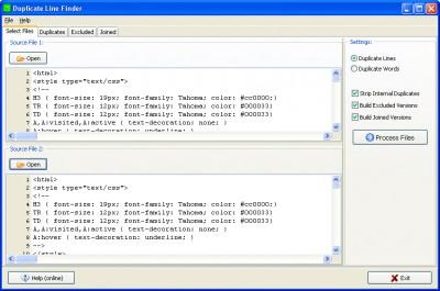 Duplicates Finder 3.1 screenshot