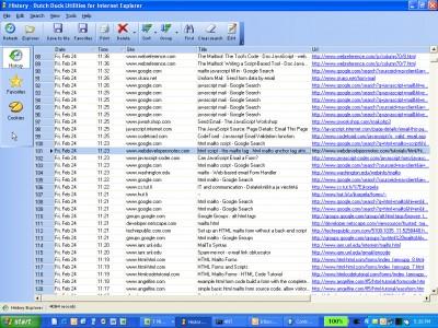 Dutch Duck Utilities for Internet Explorer 2.11 screenshot