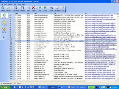Dutch Duck Utilities for Internet Explorer 3.00 screenshot