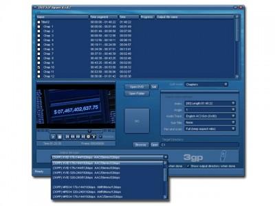 DVD 3GP Ripper 6.5.0.2 screenshot