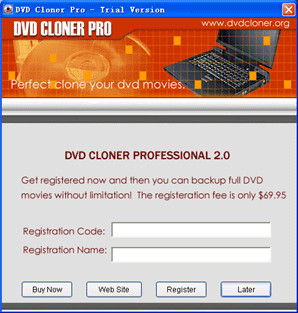 DVD Cloner Pro 7.3.0 screenshot