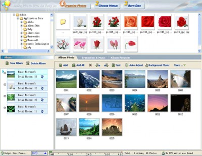 DVD Photo Slideshow Professional 6.55 screenshot