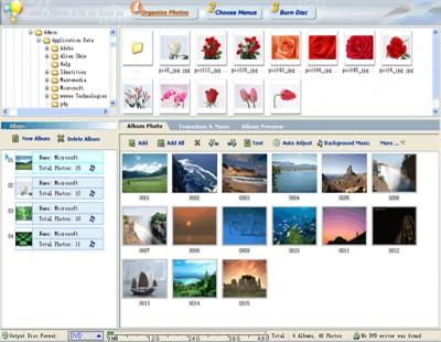 DVD Photo Slideshow Professional 6.55 screenshot