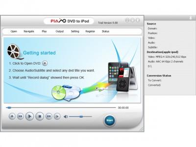 DVD to iPod Converter 2011.15 screenshot