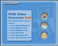 DVD to iPod Video Converter Suite 3.93 screenshot