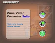 DVD to Zune Video Converter 2.5 screenshot