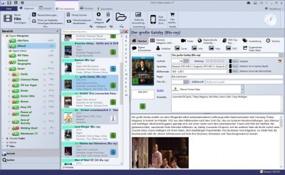 DVD-Video-Archiv+ v7 7.00.444 screenshot