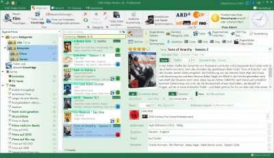 DVD-Video-Archiv+ v8 8.00.497 screenshot