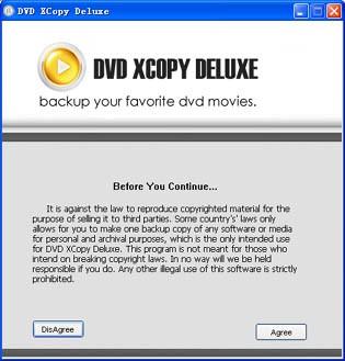 DVD XCopy Deluxe Platinum 7.6.03 screenshot