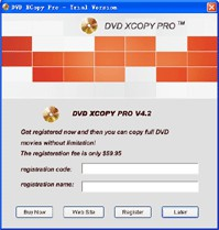 DVD XCopy Pro 4.5.7.14 screenshot