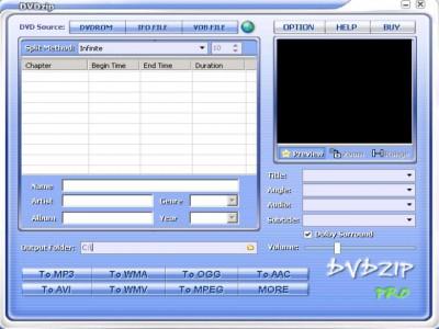 DVDZip Pro 4.0 screenshot