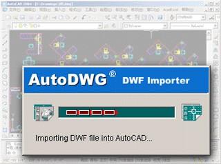 DWF to DWG Importer 1.67 screenshot