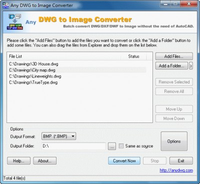 DWG to JPEG 6.2.2 screenshot