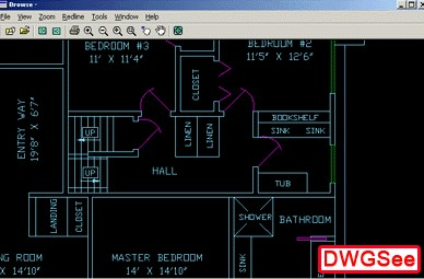 DWGSee DWG Viewer 2006 1.920 screenshot