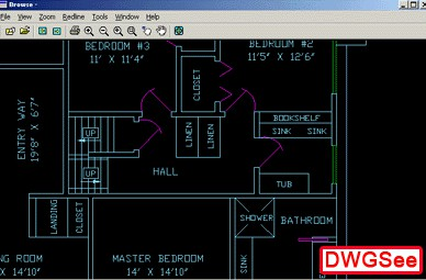 DWGSee DWG Viewer 3.30 screenshot