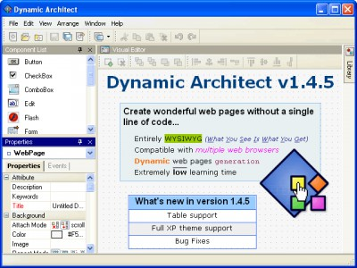 Dynamic Architect 1.4.5 screenshot
