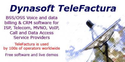 Dynasoft TeleFactura Telecom ISP Billing 6.12 screenshot